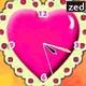 Descarga  Corazón rosa