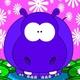 Descarga fondos Hipopótamo azul