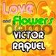 Descarga fondonombres Amor y flores