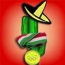 Cactus con medalla